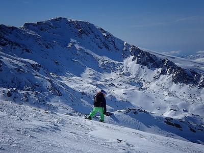 Sierra Nevada Ski Area 20 Jan 2014