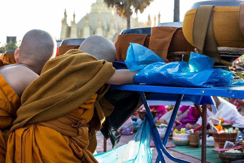 That Luang Festival in Vientiane, Laos