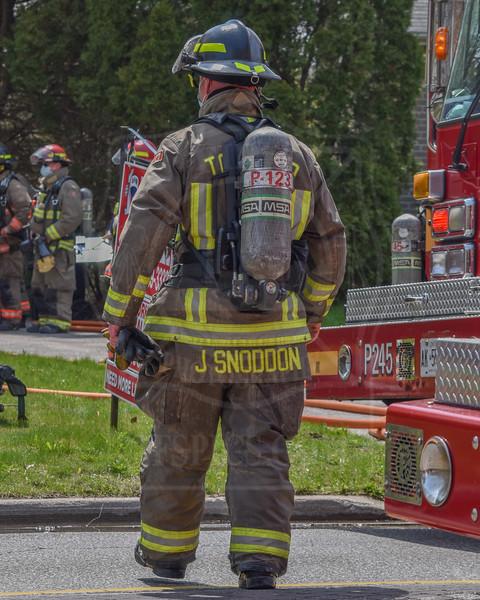 April 24, 2021 - Working Fire - 52 Wallingford Rd.