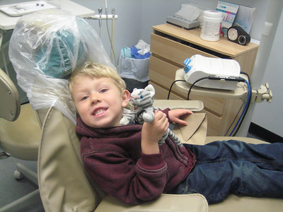2012.4.06 Boone's first trip to the dentist