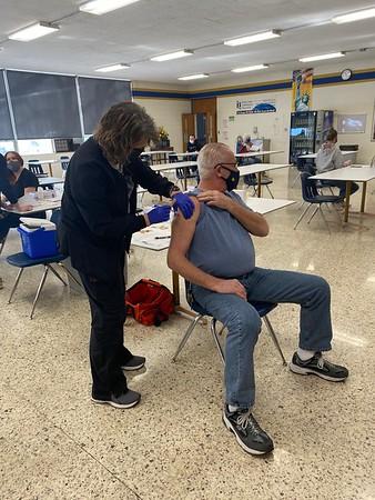 covid vaccination for staff . 2.3.21