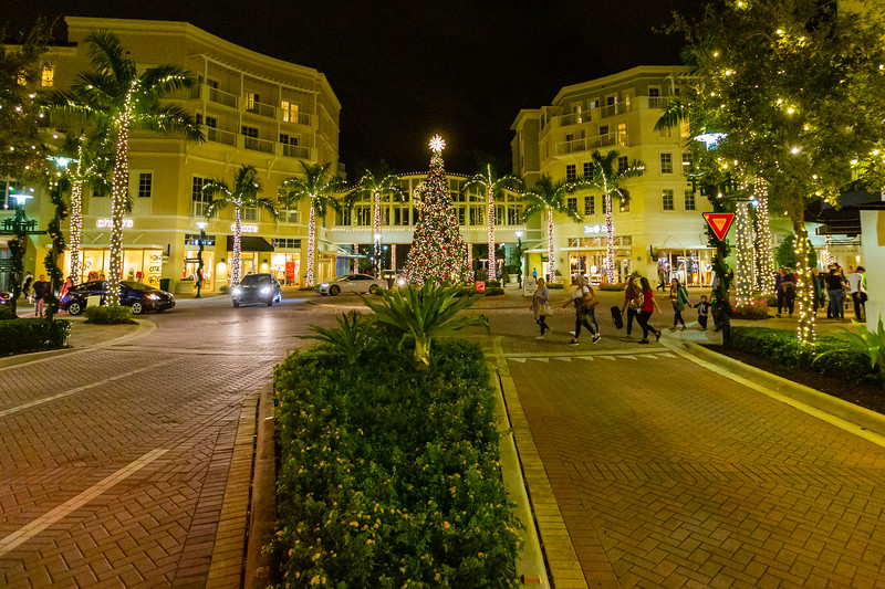 Harbourside Place in Jupiter held their annual Tree Lighting Ceremony on Saturday, November 23, 2019.  [JOSEPH FORZANO/palmbeachpost.com]