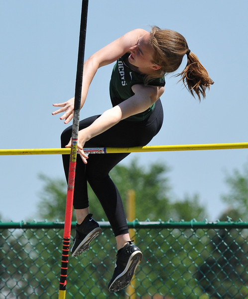 The Oak Park Girls and Boy's teams swept the 59th annual Oakland Country Track meet held on Friday May 25, 2018 at Novi High School.  Lake Orion girls took second and Novi's boys team placed second. (Oakland Press photo by Ken Swart)