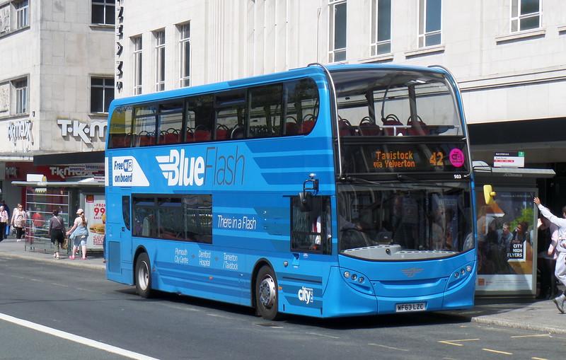 503 - WF63LZC - Plymouth (Royal Parade)