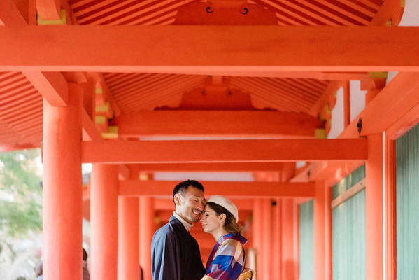 Liliana and Mitsu engagement session