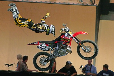 X  GAMES 12:  BEST TRICK MOTO - X @  L.A. STAPLES