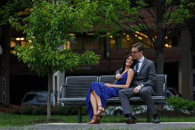 Taylor and Lucas Engagement Photo @Georgetown