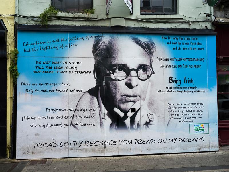 Poster of William Butler Yeats, Sligo, County Sligo, Ireland