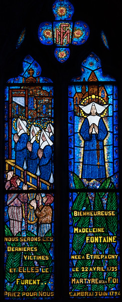 Etrepagny, Saints Gervais and Protais Church - Madeleine Fontaine Window