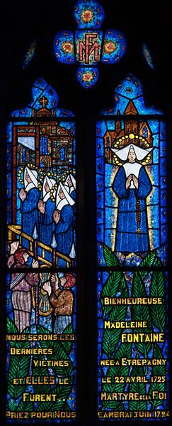 Etrepagny, Saints Gervais and Protais Church - Madeleine Fontaine Window
