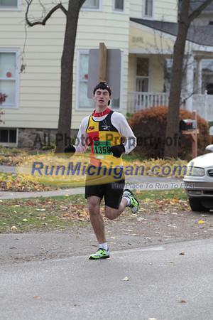 Half Marathon at 0.5 Mile mark - 2013 Clarkston State Bank Backroads Half Marathon & 10K