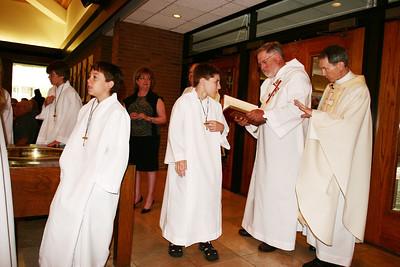 Holy Spirit Corpus Christi Procession 6/10/07