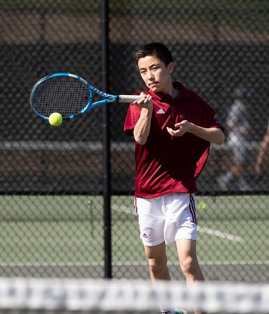 4/13/19: Boys' JV Tennis v Deerfield