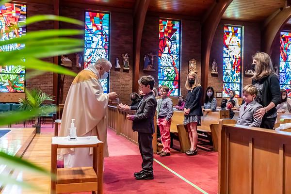 Saint Luke First Eucharist - May 2021