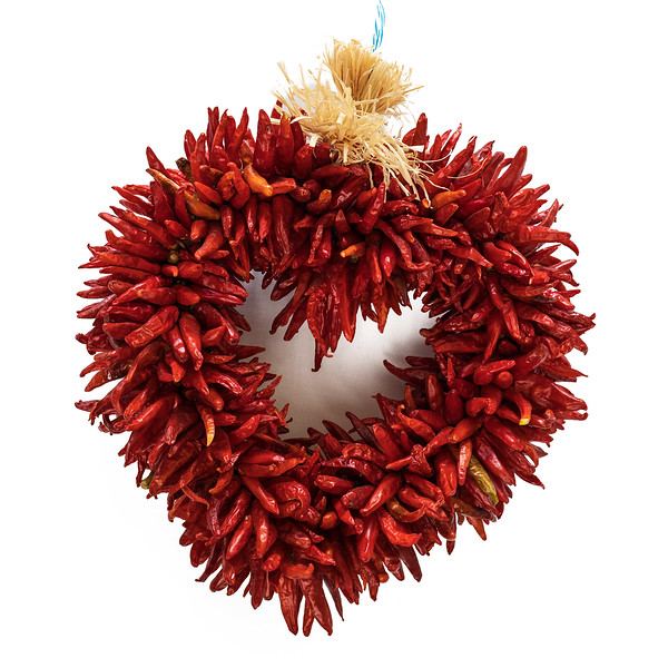 Fresh Chile Company - Red Chile Ristra - 14 Inch Heart.jpg