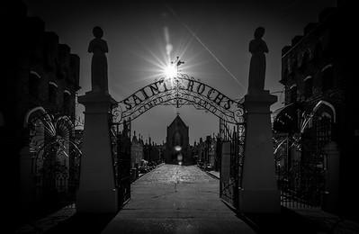 St. Roch Cemetery in B&W | Apr 2018
