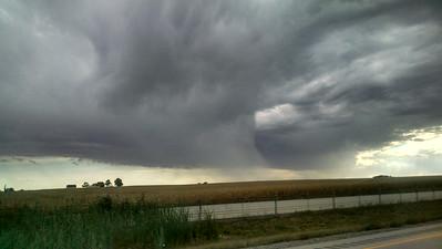Weird Weather Clouds - Oct 2014