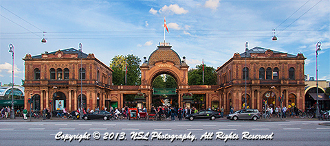 Tivoli Gardens, Copenhagen, Denmark, photo by NSL Photography