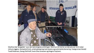 2007 - Sesongåpning med båt dåp