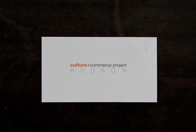 Culture+Commerce Project HUDSON