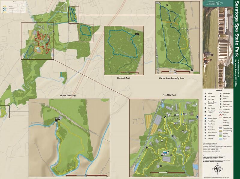 Saratoga Spa State Park (Trail Map)