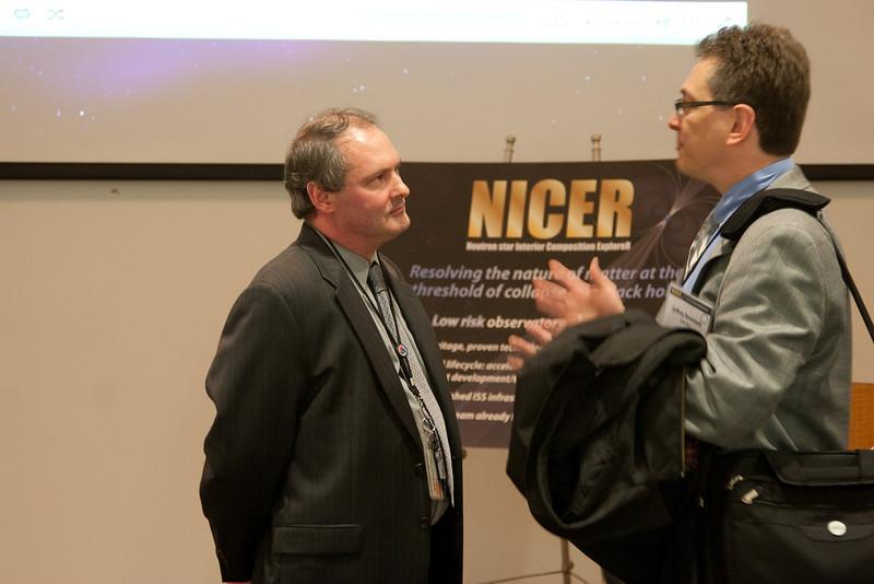 PI Keith Gendreau -- NICER Site Visit, January 29, 2013, NASA/Goddard Space Flight Center