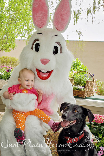 Easter Bunny _ Willow Glen 2013