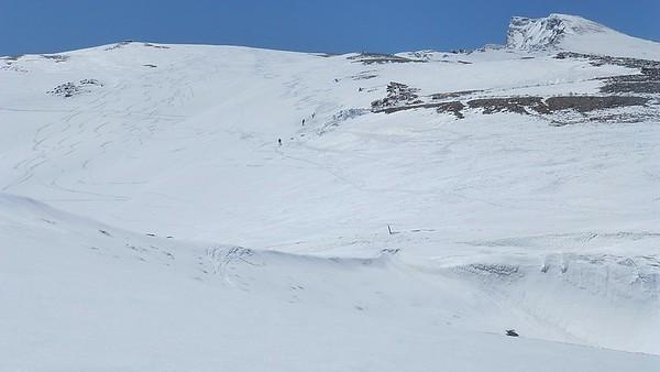 Snowshoeing and Ski Touring Veleta 23rd May 2013