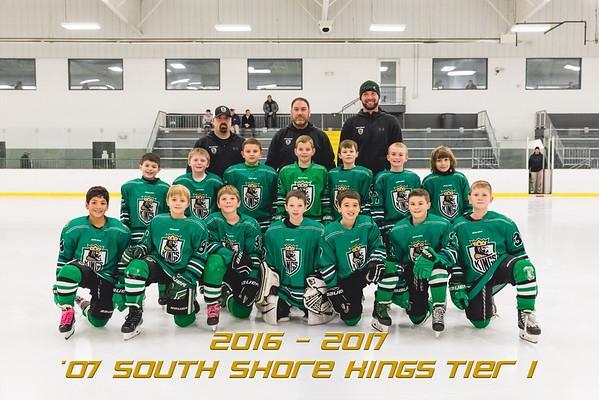 07 South Shore Kings Tier 1 Team & Individual | 2016 - 2017