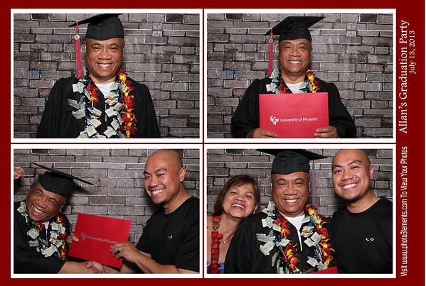 Allan's Graduation Party