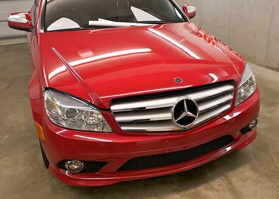 2008 Mercedes Benz C350 Clear Bra