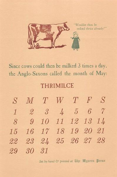 May, 1988, Wyvern Press