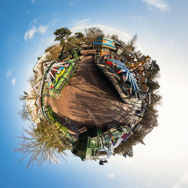 Les Manèges - Le Jardin d'Acclimatation