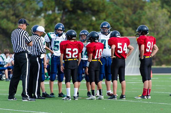 2012 CVHS Freshman B Team vs. ThunderRidge