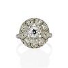 1.98ctw Art Deco Diamond Dome Ring 0
