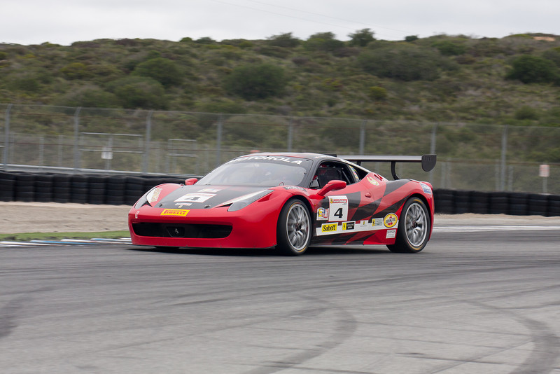 Chris Ruud in the #4 Ferrari 458 EVO. © 2014 Victor Varela