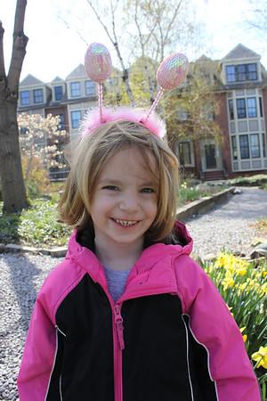 Easter Egg Hunt, Kite Flying and Katie's Birthday