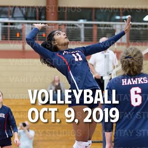 Prairie Volleyball 10-9-2019