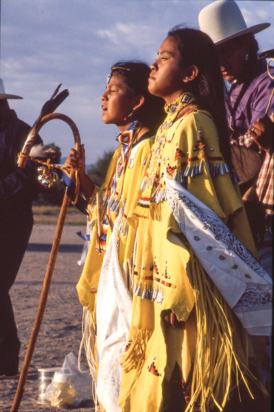 An Apache Coming of Age Ceremony