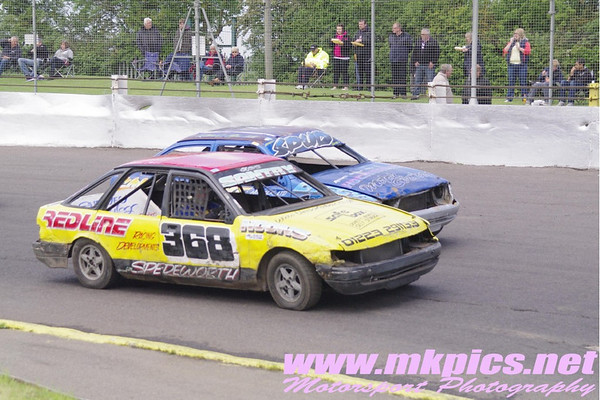 Lightning rods, Northampton International Raceway, 4 June 2012