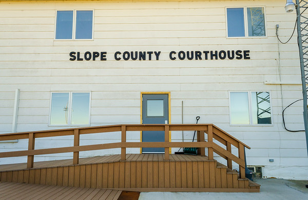 Slope County Courthouse