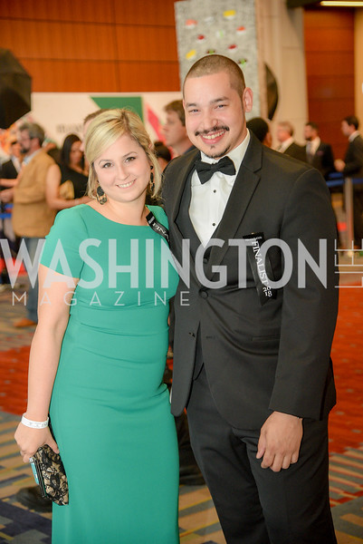 Missy Sencha, Thomas Palmer,  The 36th Annual RAMMY Awards, Washington Convention Center, June 10th, 2018.  Photo by Ben Droz.