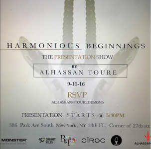 Harmonious Beginnings The Presentation show by- Alhassan Toure