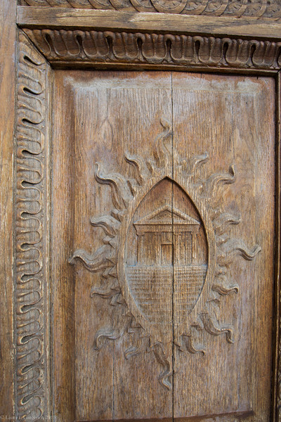 Church door carved and put in place year 900.  Yep. That's remarkable.