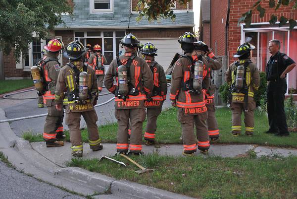 August 6, 2012 - Working Fire - 61 West Burton Crt.