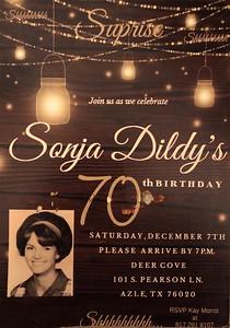 Sonja's 70th