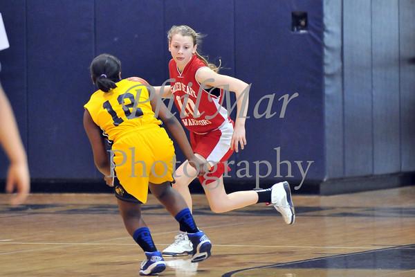 Sacred Heart vs St. Peter's Girls CYO Basketball