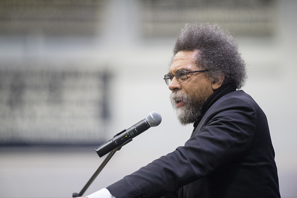 Cornel West lecture, March 2020