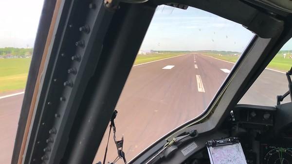 C17 training flight