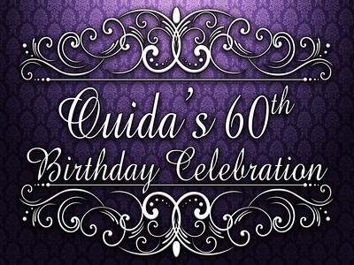 Ouida's 60th Birthday